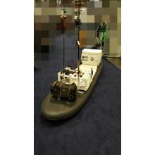 Надувная доска для рыбалки со стержневым держателем