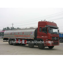 Dongfeng 8x4 milk tanker transport truck,22m3 milk truck