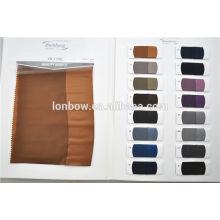 Wholesale estoque regular 100% Cupro calvário sarja tecido forro de design