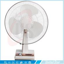 Новый дизайн охлаждения настольный вентилятор с мощным электрическим и Солор