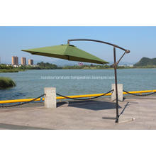3m Round Cantilever Aluminium Garden Parasol Crank