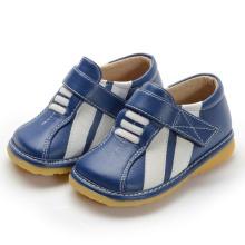 Navy Sneaker mit weißen Streifen Kleinkind Boy