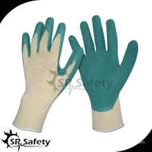 SRSAFETY 13gauge knited liner coated latex on palm gloves