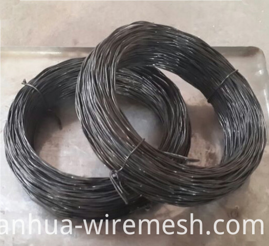 Twisted Soft Annealed Black Iron Wire Building Material