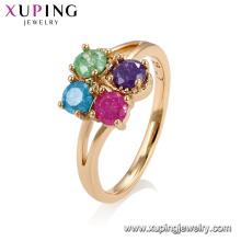Anéis de cristal da forma da jóia 15197 xuping para mulheres