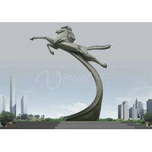 Grande escultura de metal ao ar livre VSSSP-037L