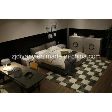 Maison de Style américain lit cuir lit meubles (A-B42)