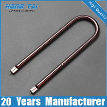 Highly Heat Efficiency Gold Plated Infrared Heater Tube