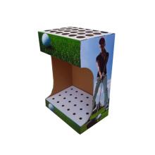 designer de papel exibe rack de exibição de gancho de papelão
