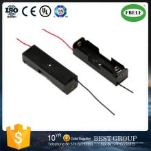 Soporte de batería redondo Soporte de batería resistente al agua Soporte de batería AA
