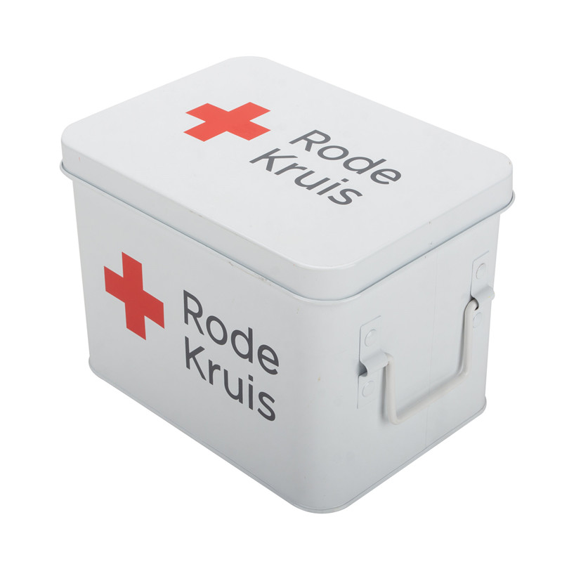 First Aid Box White