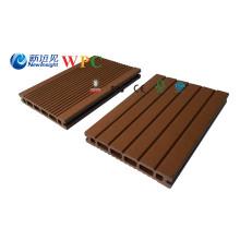 Plástico de madera del Decking compuesto 146 * 23m m con SG SGS certificado