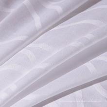 Tecido de alta qualidade 100% algodão Dobby Weave para cama de hotel (WSF-2016004)