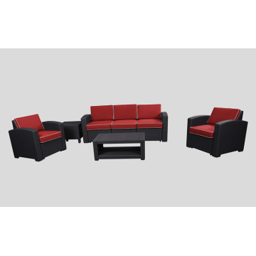 Neues Design Outdoor wasserdicht Patio Kunststoff Sofa