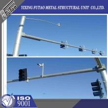 Galvanized Steel Camera Monitor Pole