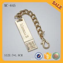 MC645 Quincaillerie en métal pour sac à main