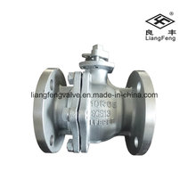 Cast Steel Flange End Ball Valve JIS