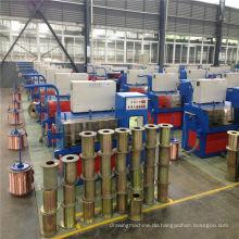 24DT (0.08-0.25) Kupfer-Feindrahtziehmaschine mit Ennealing