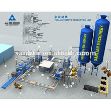 Baugeräte Zement Block Herstellung Maschine für kleine Unternehmen Verkauf