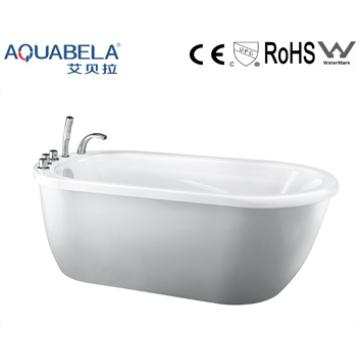 Modern Design Acrylic Simple Bathtub, Cheap Bathtub (JL618)