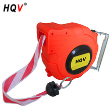 A18 wall-mounted retractable barrier tape reel 48mm webbing size automatic safety barrier reel