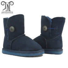 Kids Navy Real Leather youth boys toddlers