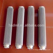 La cartouche filtrante d'oxyde métallique d'élimination d'élément filtrant de fonte de fonte de fibre d'acier inoxydable d'OEM
