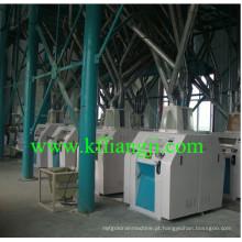 Fábrica de moinho de farinha de trigo de alta eficiência de 100 toneladas / dia / Máquina de moinho de farinha de milho