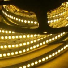 Tira flexível branca morna do diodo emissor de luz 2700k / 3000k