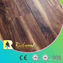 Suelo de madera laminado vinílico Handscraped del vinilo de E3 HDF del roble blanco 12.3mm