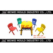 Benutzerdefinierte Injektion Kunststoff Kinder Stuhl und Tisch Form