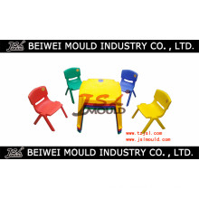 OEM Custom Injection Plastic Kids Chair and Table Mould