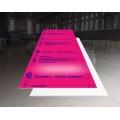 Gloss Fuchsia Aluminium Sheet Plate 1.6mmThick 5052 H32 1220 * 2440mm