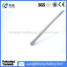 6 * 7 + FC Cable de acero galvanizado de alta tensión de alambre