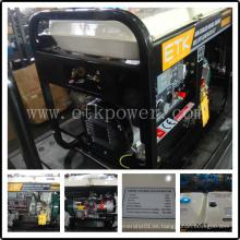 Rápido y fácil de configurar soldador diesel Generaror conjunto