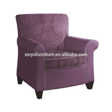 Floral pattern upholstered arm sofa chair XY2644
