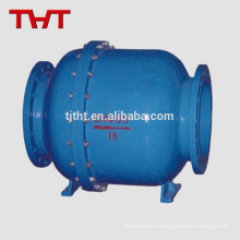 современный дизайн углеродистая сталь двойной шаровой превентор обратного потока клапан