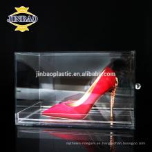 El estante material de acrílico de la exhibición del material del pmma del color claro de Jinbao atormenta 3m m