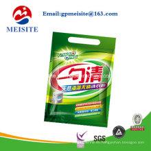 Lavado de bolsas de polvo / Detergente de lavandería bolsas de plástico de embalaje