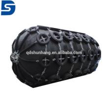 Garde-boue marin pneumatique en caoutchouc avec chaîne galvanisée et pneu fabriqué en Chine