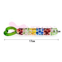 Brinquedos adultos do sexo Dildo de cristal para mulheres Ij_P10043