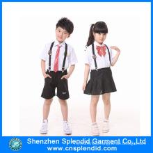 Shenzhen Factory Custom Cheap Fashion Kids School Uniforms
