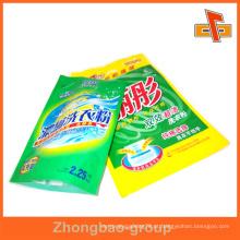 Plástico levantar-se bolsa saco para pó de lavagem / pó de sabão em pó / pó de lavanderia