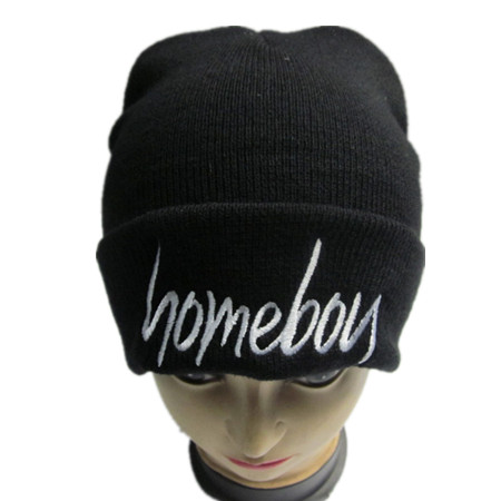 Embroidery Knitted Hat