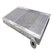 Intercambiador de calor profesional del compresor de aire / refrigerador de aceite de la placa / tipo de la aleta de la placa intercambiador de calor para el compresor del tornillo