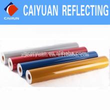 Vinilo de cinta prismática CY alta intensidad grado película reflexiva en la acción