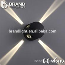 Boa qualidade 4 luzes laterais luz de parede moderna LED, luz decorativa da parede do diodo emissor de luz