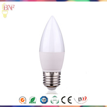 Lumière directe d'usine du jour C37 E27 / E14 LED / ampoule bougie warmwhite pour 3W / 5W7w / 9W