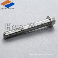 GR5 titanium hex socket taper head screw