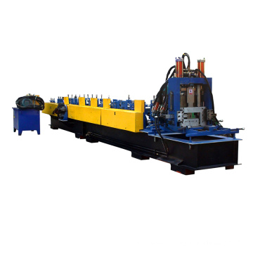 Galvanized Color Coated Iron Sheet Making CZ Purlin Roll Forming Machine